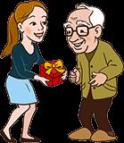 Geschenk für Opa