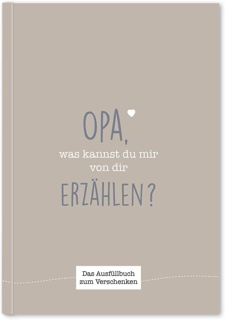 Erinnerungsbuch - Geschenk für Opa