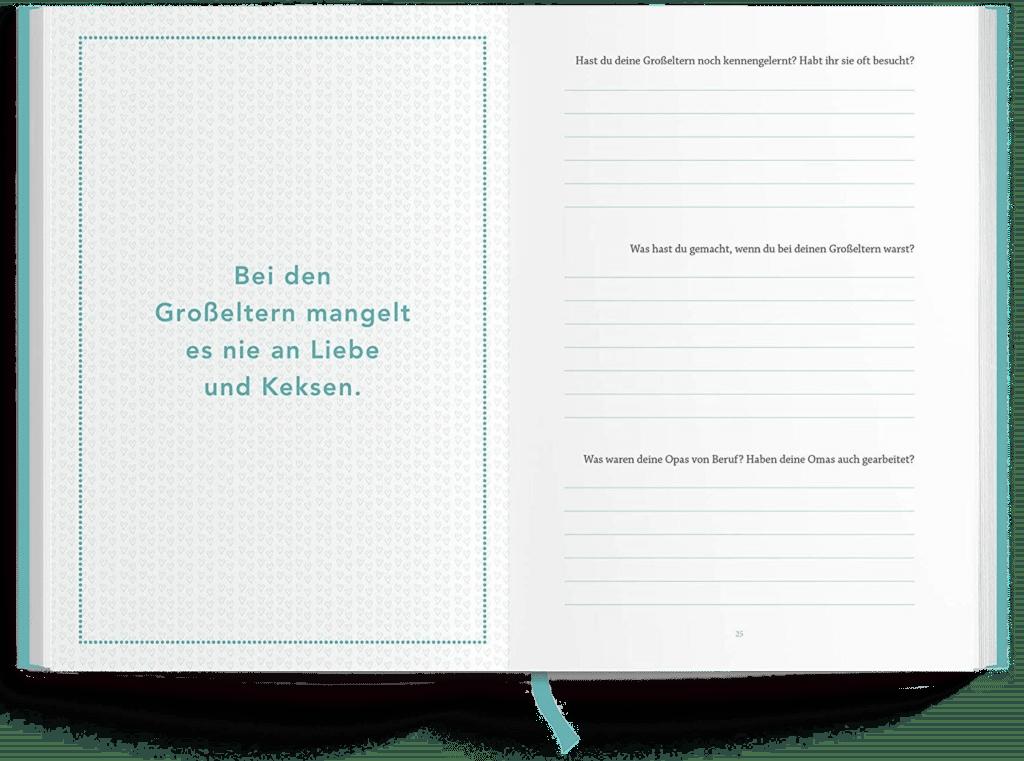 Erinnerungsbuch - Opa, erzahl mal
