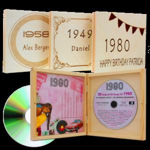 Geschenk Opa - Jahrgangsmusik CD