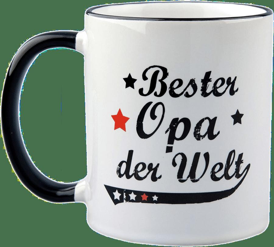 Geschenk für Opa 80 Jahre - Tasse