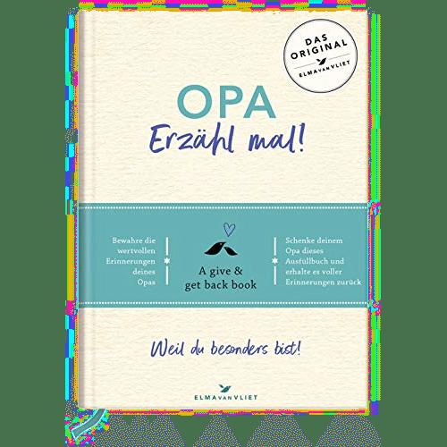 Erinnerungsbuch für Opa - Opa, erzähl mal