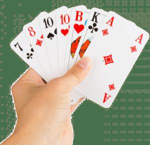 Großes Kartenspiel - extra große Symbole