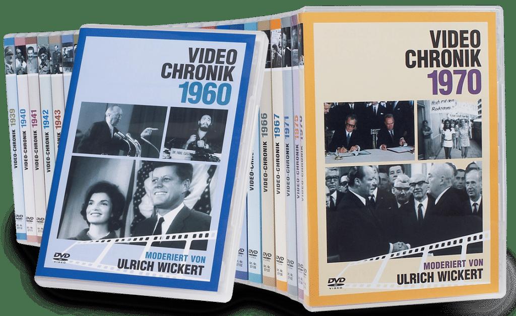 Jahrgangs-DVD-Chronik - Geschenk für Opa