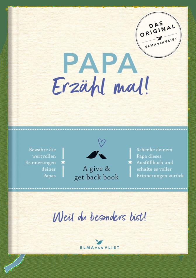 Geschenkidee Vatertag - Ausfüllbuch