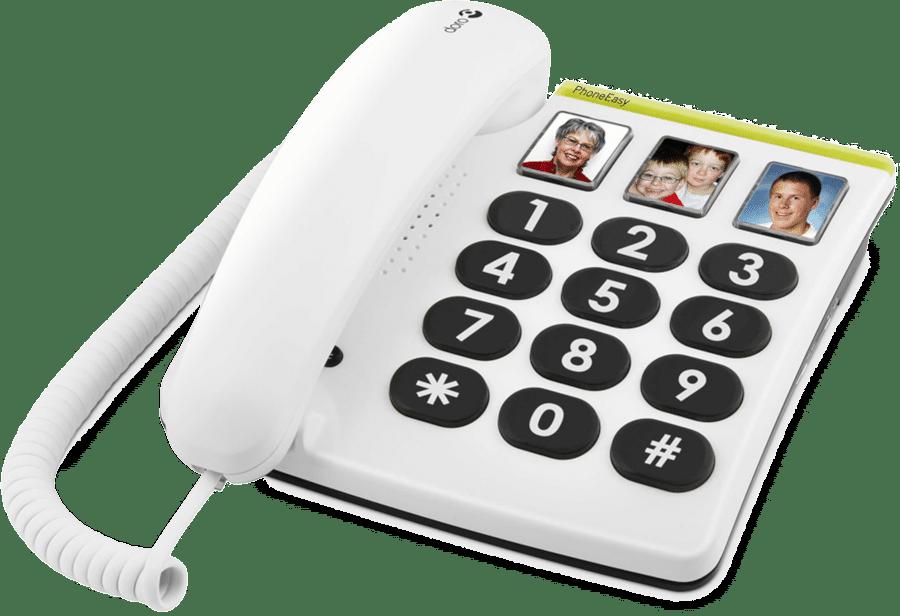 Seniorentelefon - Direktwahl-Fototasten