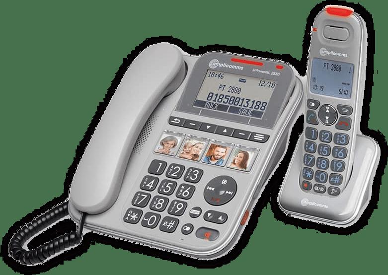 Seniorentelefon mit Bildwahltasten