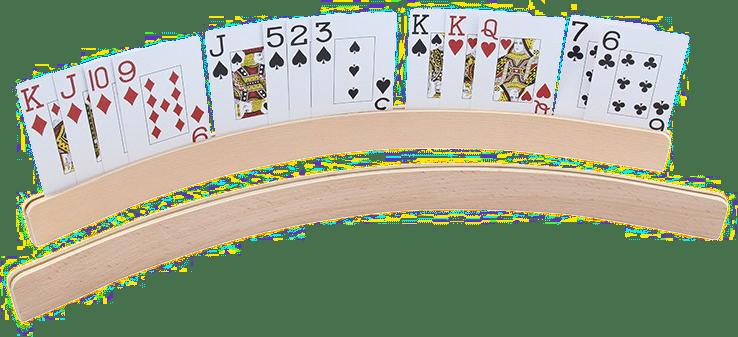 Spielkartenhalter - Geschenk für Senioren