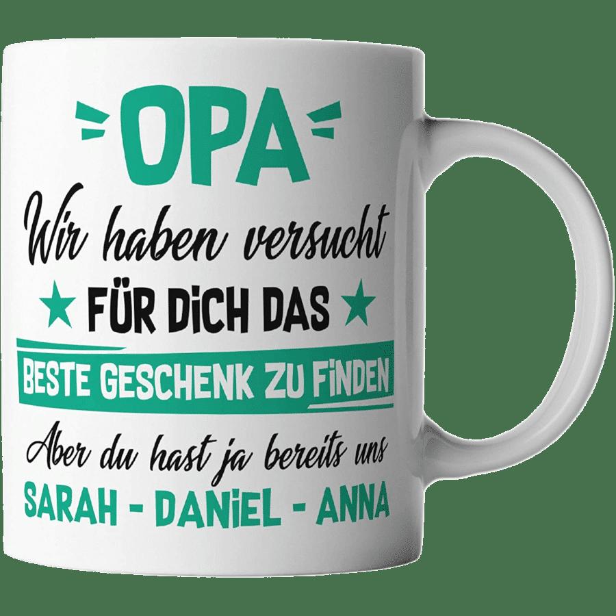 Tasse für Opa - Geschenk für Opa