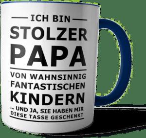 Tasse für Papa - Vatertagsgeschenk