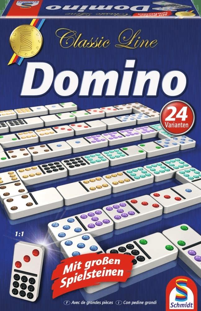 großen Spielsteinen - XXL Dominosteinen