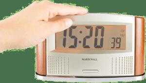 Sprechender Funk Wecker - Geschenk für einen Mann von 85 Jahren