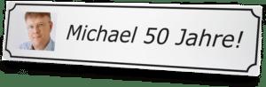 Strassennamenschild mit photo zum 75. Geburtstag