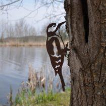 Geschenk für Opas Garten - Metallvogel
