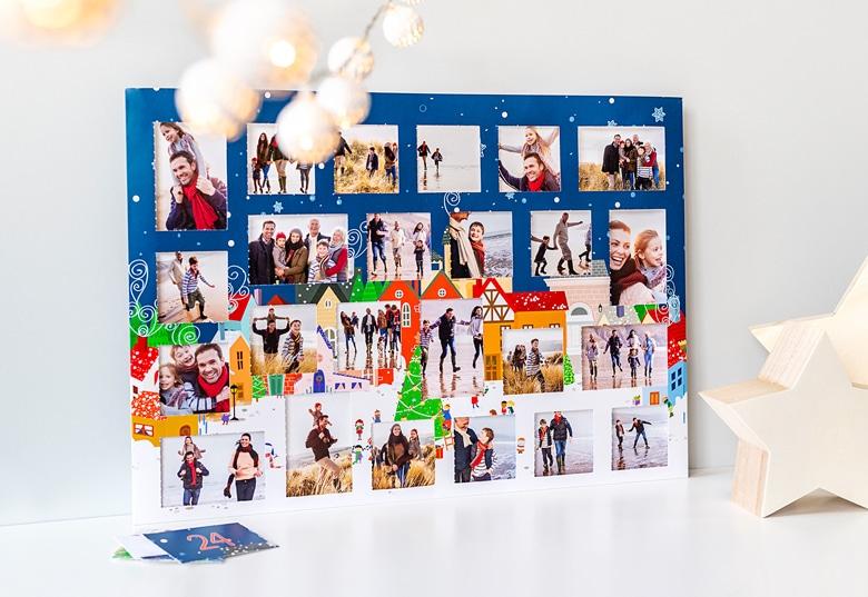 Adventskalender mit eigenen fotos - Geschenk für einen Mann von 75 Jahren