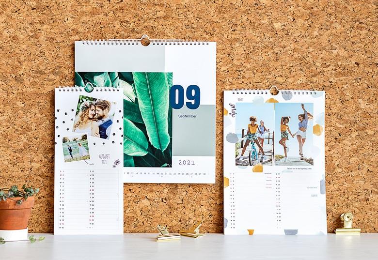 Kalender mit eigenen Fotos - Geschenk für Opa