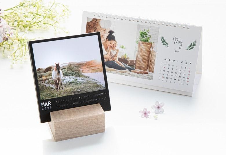 Kalender mit eigenen Fotos - Tischkalender