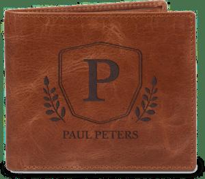 Weihnachtsgeschenk für Opa - Leder Portemonnaie