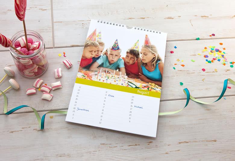 geburtstag kalender für einen älteren Mann