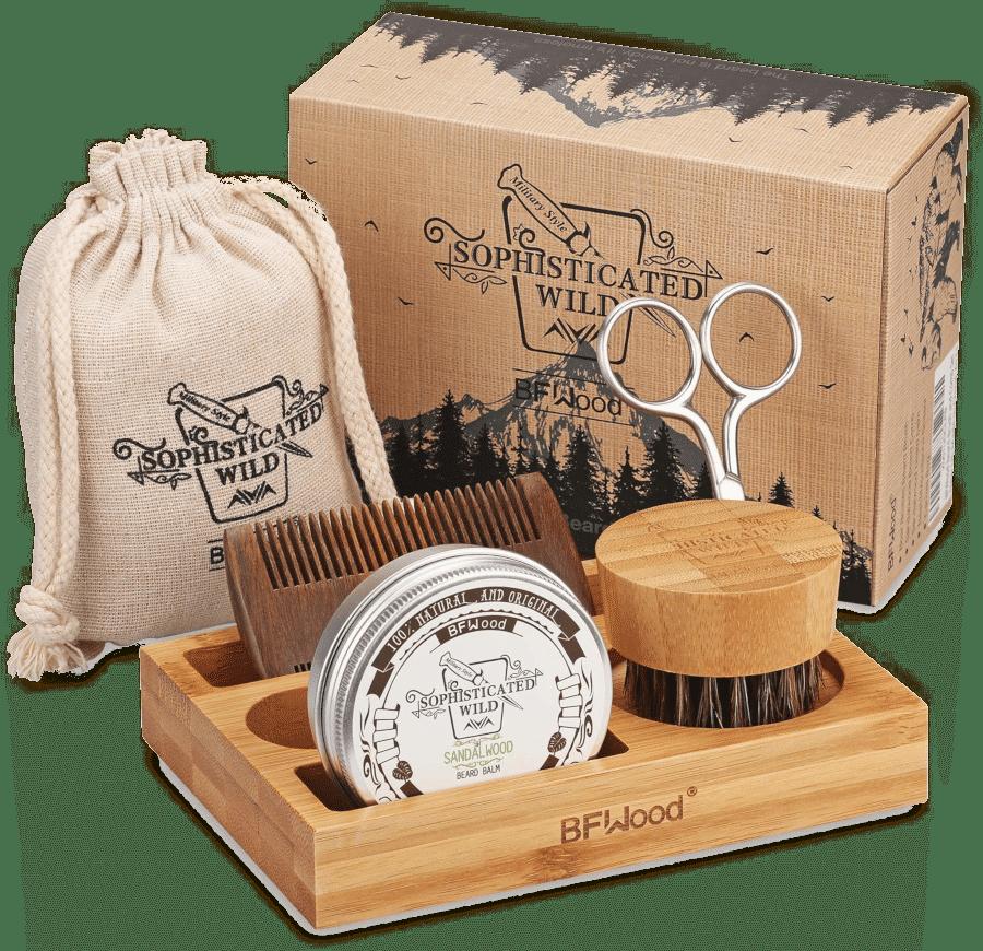 Bartpflege set - Geschenk für Opa