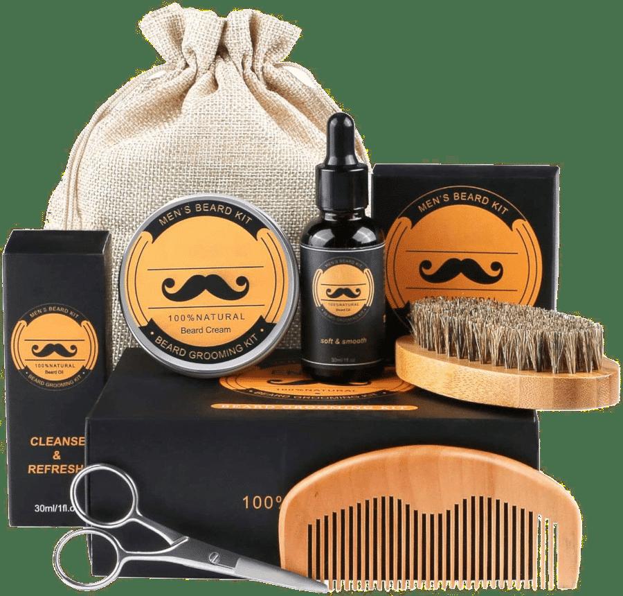 Bartpflege set für Männer - Geschenk für Opa 70 Jahre