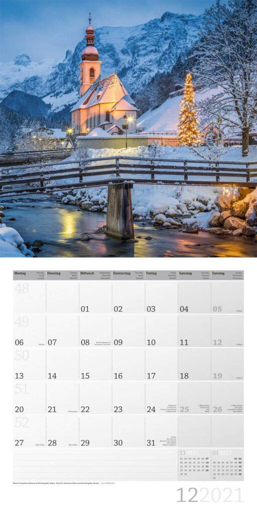 Kalender für einen älteren Mann - Wandkalender Deutschland