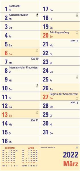 Kalender in Großdruck - Geschenk für Senioren
