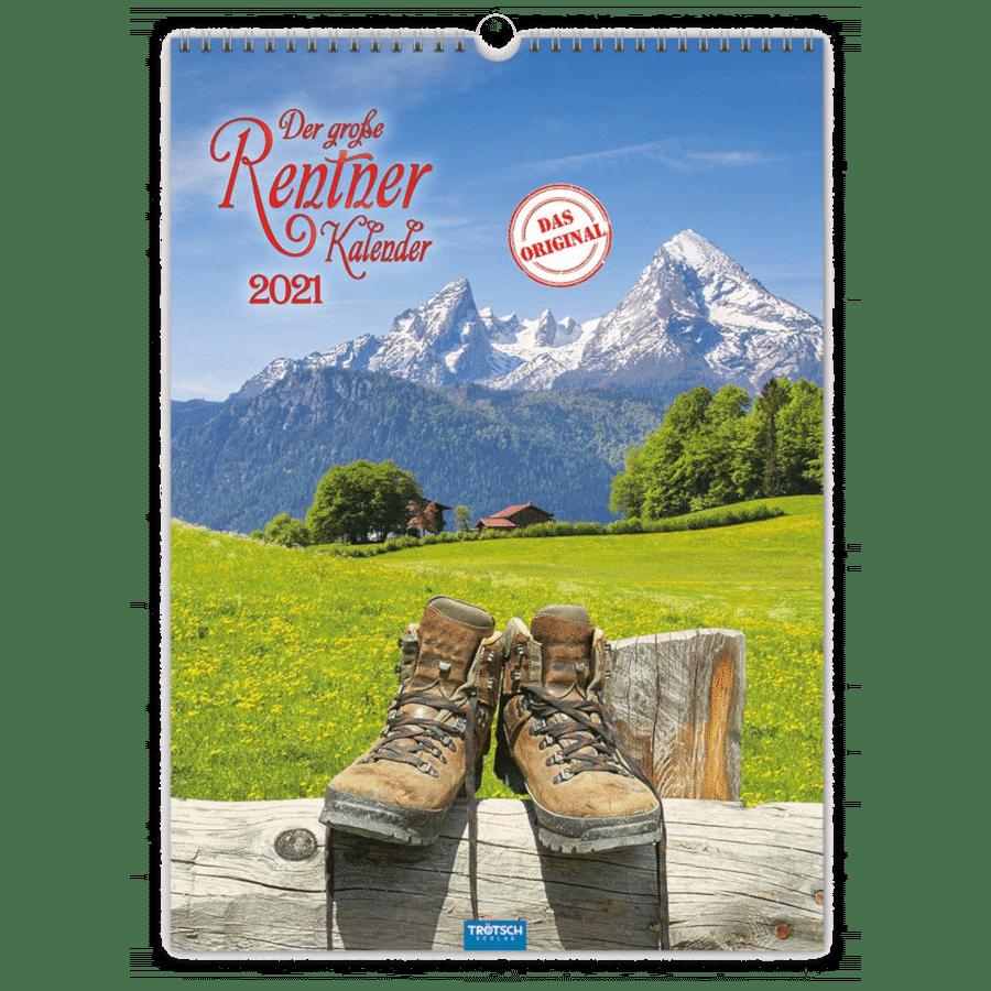 Rentnerkalender - Kalender für einen älteren Mann