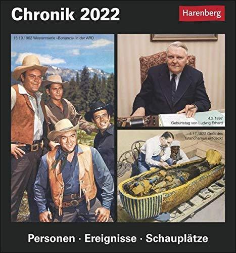 Weihnachtsgeschenk für Opa - Chronik Kalender 2022
