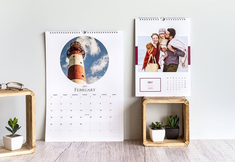 Kalender mit eigenen fotos
