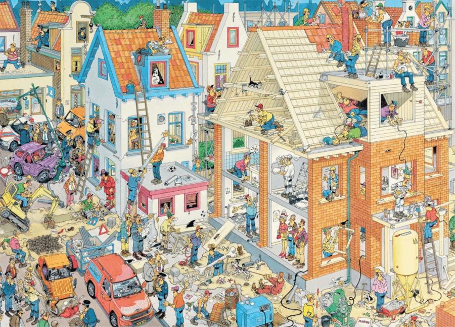 Geschenk für Opa zum 65. Geburtstag - lustiges Puzzle für Erwachsene