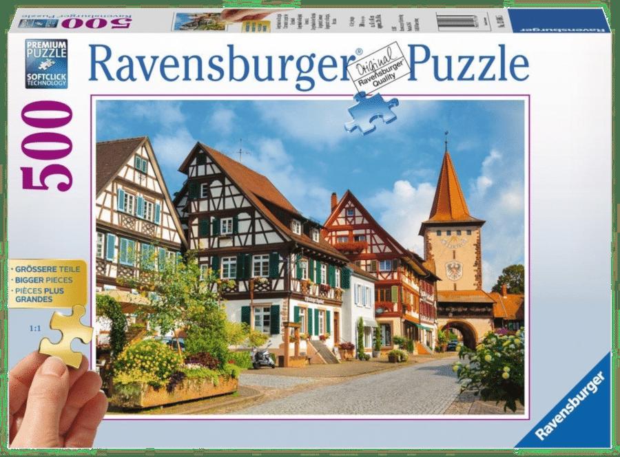 Puzzle mit XXL-Puzzleteile - Geschenk für Senioren