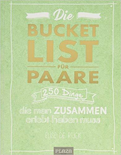 Bucket List für Paare - Geschenk Hochzeitstag