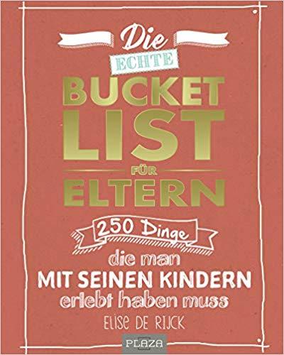 Buck Bucket List für Eltern - Baby Shower Geschenk
