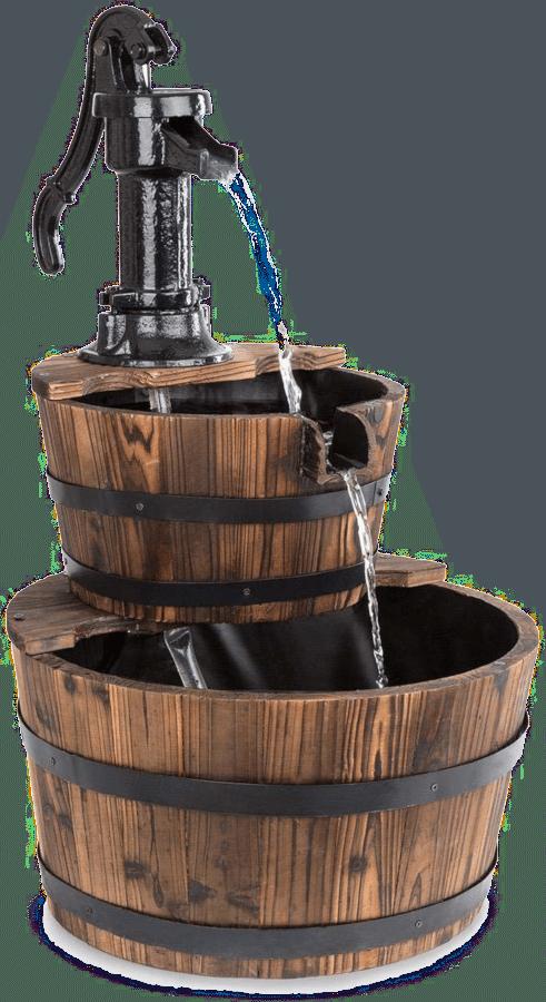 Geschenk für einen Opa von 75 Jahren - Wasser Ornamente