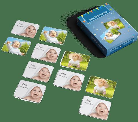 Memospiel mit Ihren Foto - Originelle Geschenkidee für Opa