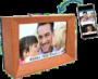 Digitale Bilderrahmen sim - Geschenk für Senioren