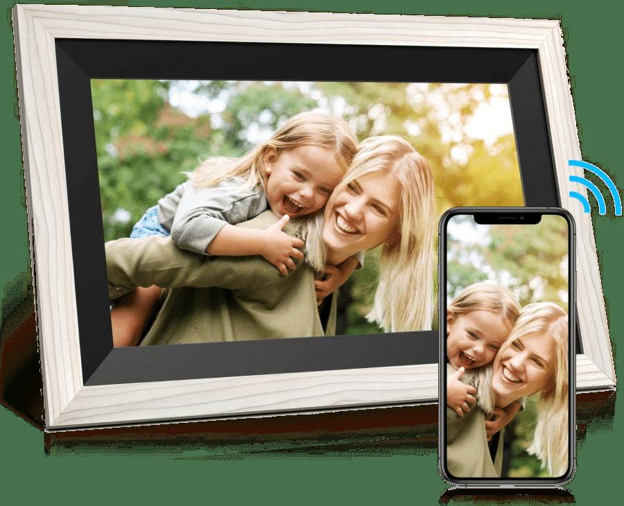 Digitaler Bilderrahmen WLAN - Geschenk Großeltern