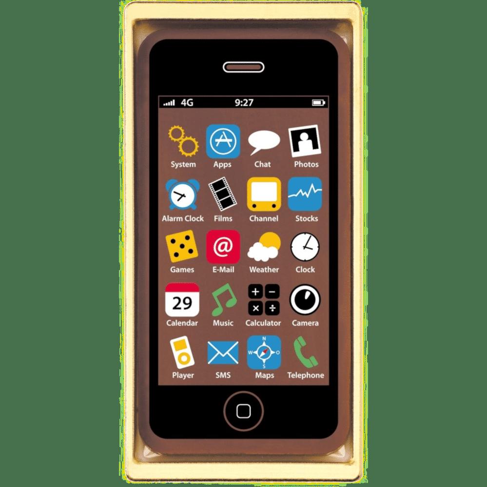 Geschenke aus Schokolade - Handy Smartphone