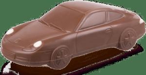 Geschenk Autoliebhaber - Porsche aus Schokolade