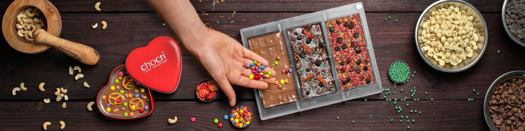 Tafel kreieren - Schokolade gestalten