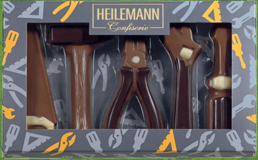 Werkzeuge - Geschenke aus Schokolade Mann