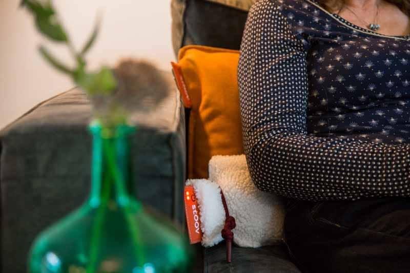 sichere Wärmflasche Infrarot - Geschenk für einen älteren Mann
