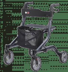 Rollator- Hilfsmittel ältere Menschen