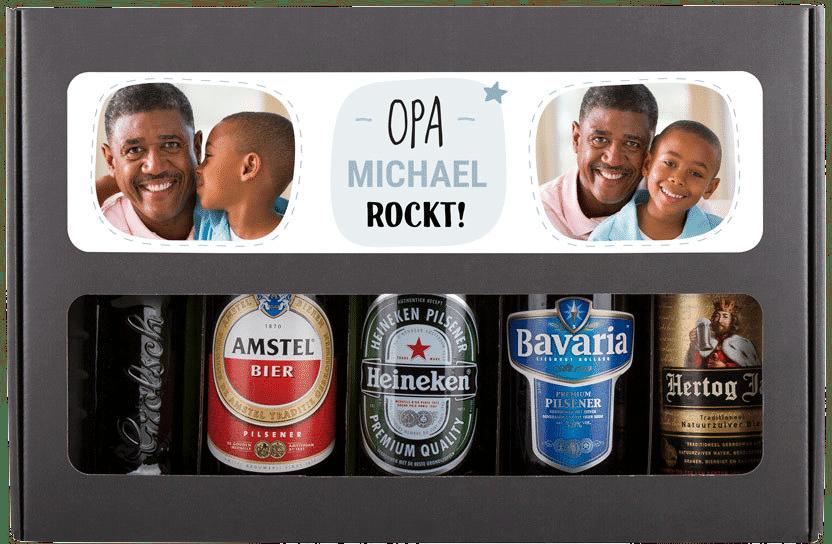 Bier Geschenkset - Geschenk für Opa zum 70. Geburtstag