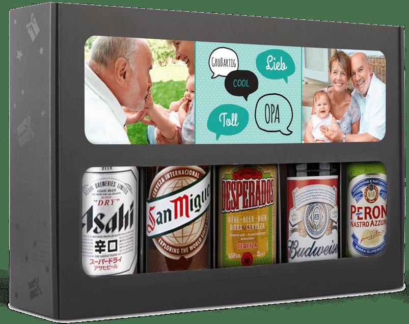 Geschenk für Opa zum 70. Geburtstag - Bier Geschenk Set