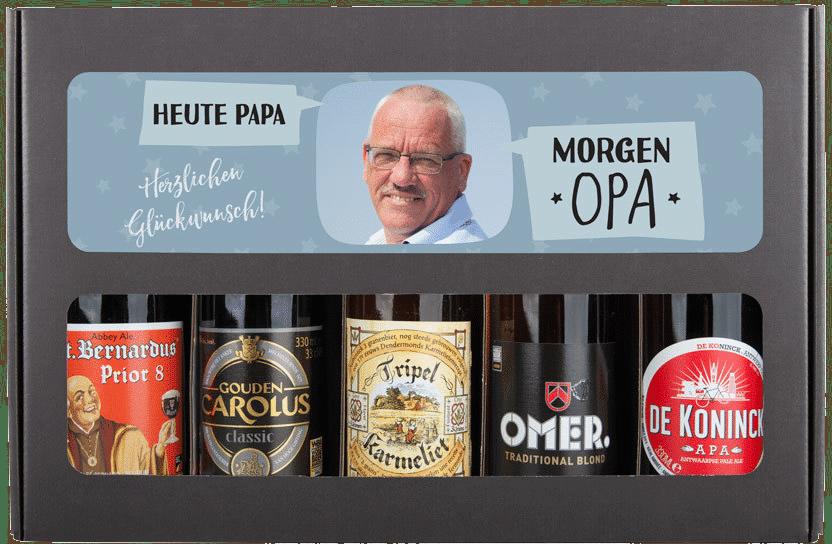 Geschenk zum 70. Geburtstag Opa - Bier Geschenk