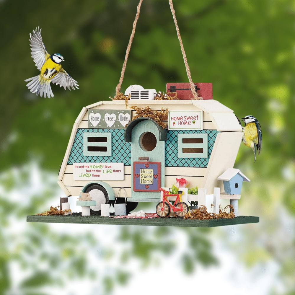 Nistkasten Wohnmobil - originelle Geschenke für Opa
