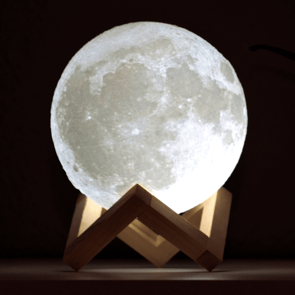 originelle Geschenke für Opa - Mond Lampe