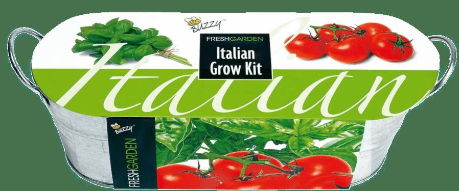 Gemüseanbau - Anzuchtset in Zinkwanne